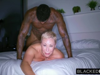 BLACKEDRAW This thick wife needed some fun after work without her husband