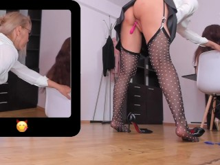 Office Slut – Masturbating and Squirt in Trash Behind My Co Workers in Secret on Chaturbate