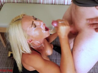 His 1st time with a milf! My biggest facial! DAYNIA